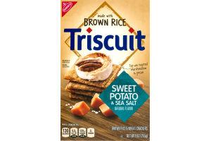 Nabisco Triscuit Crackers Sweet Potato & Sea Salt