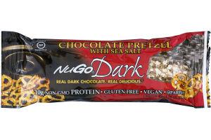 NuGo Dark Chocolate Pretzel with Sea Salt
