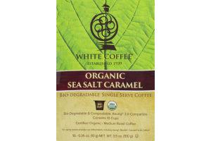 White Coffee Organic Sea Salt Caramel Medium Roast BioCups - 10 CT