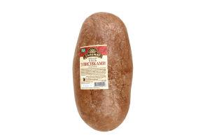 хліб з висівками подовий