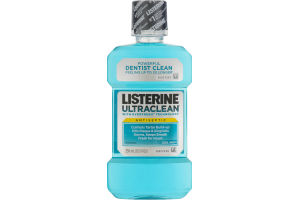 Listerine UltraClean Antiseptic Mouthwash Cool Mint
