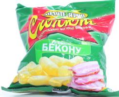 Кукурузные палочки со вкусом бекона Салют м/у 45г