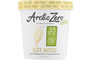 Arctic Zero Fit Frozen Desserts Cake Batter