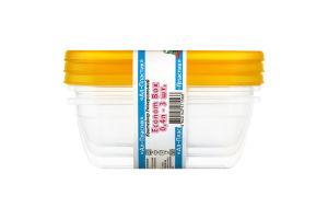Набор контейнеров универсальных Econom Box Ал-Пластик 0.4л 3шт