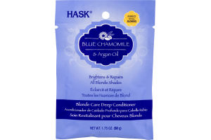 Hask Blonde Care Deep Conditioner Blue Chamomile & Argan Oil