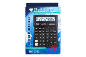 Калькулятор №BS-0333 Brilliant 1шт