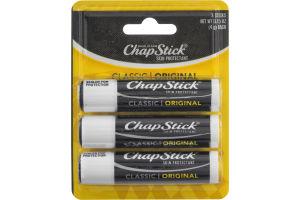 ChapStick Skin Protectant Classic Original - 3 CT