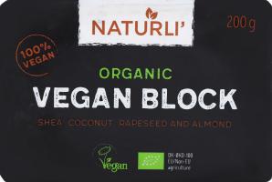 Продукт Naturli блок органик веганский 75%