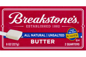 Breakstone's Butter Unsalted - 2 CT