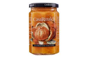 Варення з італійських клементинов Casa Rinaldi с/б 330г