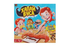 Гра настільна для дітей від 5років №007-46 Хапай Вуса Kingso Toys 1шт
