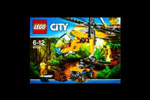 LEGO® City Грузовой вертолёт исследователей джунглей 60158