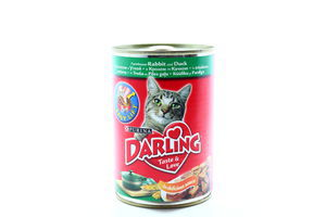 Корм Purina Darling Кролик, качка 400мл х24