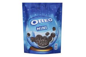Печиво Орео Mini (Міні) з какао та начинкою ванільного смаку, 100г