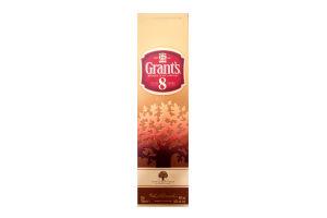 Виски 0.7л 40% 8 YO Grant's бут