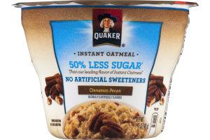Quaker Instant Oatmeal Cinnamon Pecan