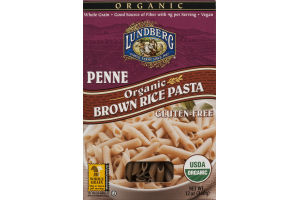 Lundberg Penne Organic Brown Rice Pasta