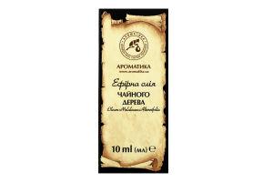 Масло эфирное Чайного дерева Ароматика 10мл