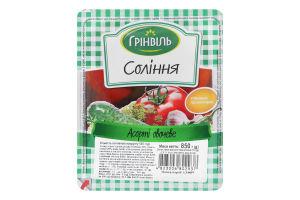 Соління Асорті овочеве Грінвіль лоток 850г