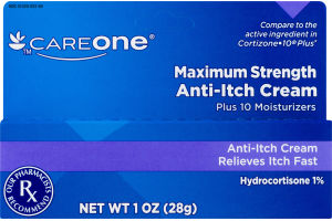 CareOne Maximum Strength Anti-Itch Cream