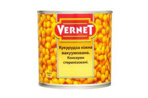 Кукуруза нежная Vernet ж/б 340г