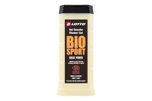 Гель для душа мужской Bio sport Great Power Lotto 450мл