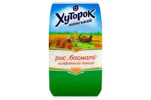 Рис длинный Басмати Хуторок Панський м/у 1кг