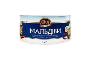 Торт Мальдіви БКК к/у 450г