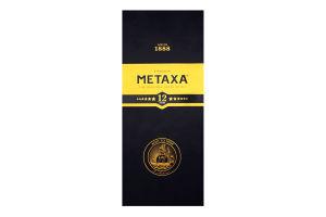 Алкогольний Напій Metaxa 12* 0,7л (короб.) х3**