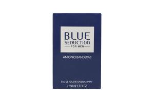 Туалетная вода мужская Blue Seduction for men Antonio Banderas 50мл