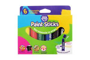 Краска-карандаш Little Brian Paint Sticks classic