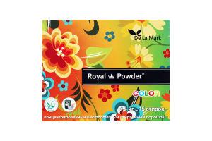 Порошок стиральный концентрированный бесфосфатный Color Royal Powder 0.5кг