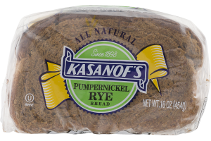 Kasanof's Pumpernickel Rye Bread