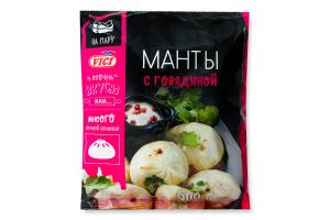 Манты с говядиной Vici м/у 600г