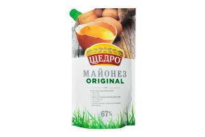 Майонез Eko Original 67% Щедро д/п 350г