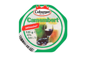 Сыр 45% безлактозный Camembert Coburger м/у 125г