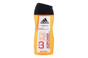 Гель для душу 3в1 Adipower Adidas 250мл