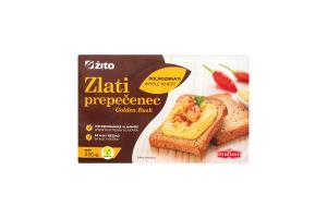 Тосты Zito Golden Rusk цельнозерновые запеченные