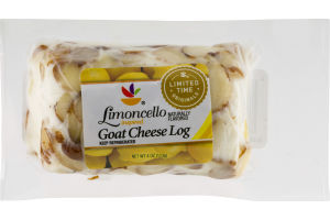 Ahold Limoncello Goat Cheese Log