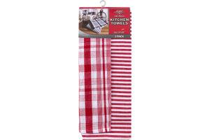 "Royal Crest Flat Woven Kitchen Towels 20""x28"" - 2 CT"