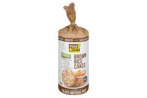 Хлебцы рисовые цельнозерновые несоленые Black Imperial Rice Rice Up! м/у 120г
