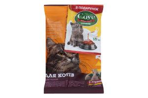 Корм для котів з куркою+соус Для Друга м/у 100г