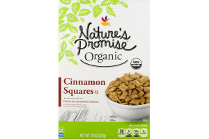 Nature's Promise Organic Cereal Cinnamon Squares