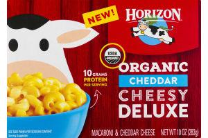 Horizon Organic Cheddar Cheesy Deluxe Macaroni & Cheddar Cheese