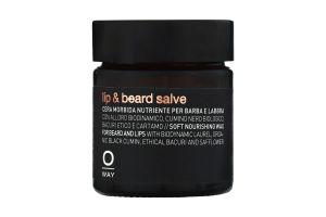 Бальзам для губ і бороди для пом'якшення та живлення Men Oway 30мл