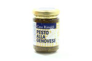 Крем-паста Casa Rinaldi песто Генуя у сон. олії 125г х12