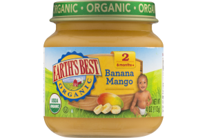 Earth's Best Organic Banana Mango Stage 2