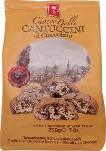 Кантучини Biscottificio Belli Cioccobelli шоколад