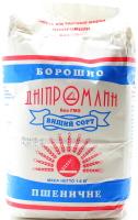 Мука пшеничная высший сорт Дніпромлин м/у 1.8кг