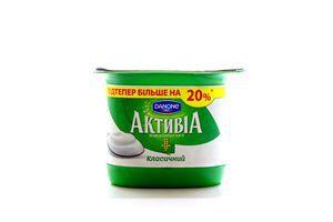 Бифидойогурт 2.4% Классический Активіа ст 140г
